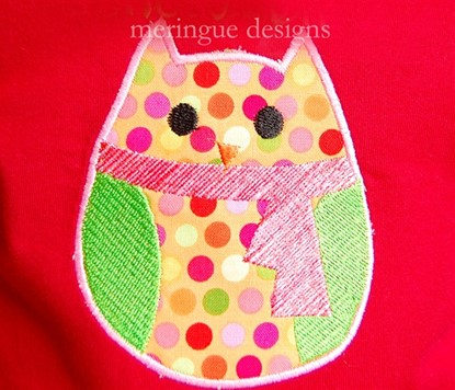 Picture of Winter Owl Applique